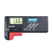 New AAA AA C D Battery Universal Tester BT-168D 1.5V 9V Button Cell Rechargeable