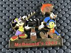 pins pin CINEMA DISNEY MICKEY JIMINY COCA COLA MC DONALD'S