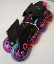 Roller Derby Rd Falcon Gtx Roller Blades Set - Pink Wheels Skates Replacements