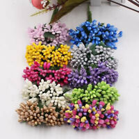 Bead Flower Core Artificial Flower Wreath Berry With Leaf Party Wedding Decor