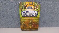 Mega Heroes: Cyber Force - Battle Stryker & Buzzcut Figures