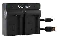 Cargador doble de baterías para Canon VIXIA HG10 HG20 HG21 XA10 XA20 XA25 ¦ 90108 90314 |