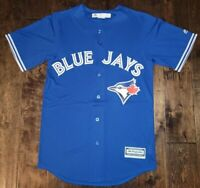 NEW Majestic MLB Toronto Blue Jays Cool Base Blue Blank Jersey Men's Sizes