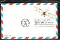 "US SC # UXC17 Curtiss JN-4D "" Jenny "".Postal Card FDC. Ready For  Cachet"