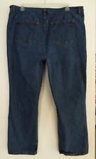 INC Woman Size 24W Jeans International Concepts 44 x 29 SIDE SLITS Distressed