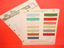 1959 FORD THUNDERBIRD GALAXIE FAIRLANE SKYLINER RANCHERO SUNLINER PAINT CHIPS 59