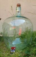 sehr großer alter Gärballon mit Holzpfropfen ⭐️ klares Glas ⭐️  ca. 55 l