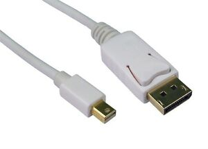 1m Mini DisplayPort to DisplayPort Cable Lead Male to M Display Port