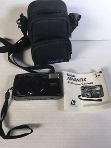 Kodak Advantix 4100ix Zoom Point & Shoot Film Camera Good Working With Manual