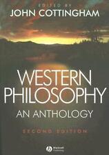 Blackwell Philosophy Anthologies: Western Philosophy 9 by John G. Cottingham...