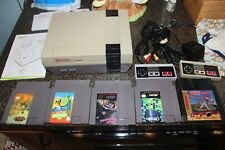 *NES SYSTEM W/ GAMES* new 72 pin bundle game console nintendo 6