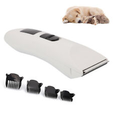 PHC-720 Low Noise Professional Pet Dog Cat Hair Electric Grooming Clipper White