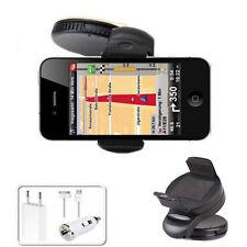 Auto Halterung Apple iPod iPhone 4 4S 3G 3GS Halter USB KFZ  Ladegerät Netzteil