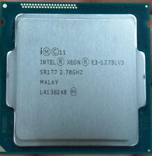 Intel Xeon E3-1275L v3 2.7GHz LGA 1150 SR1T7 4-Core 8M 45W GPU Processor CPU