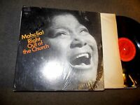 Sings The Gospel Straight Out Of Church by Mahalia Jackson LP IN SHRINK