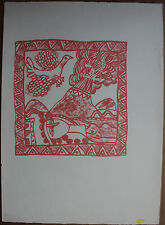Guillaume CORNEILLE - Lithographie lithograph COBRA movement *
