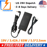 Laptop AC Adapter Charger For Toshiba PA3822U-1ACA L655 Power Cord 19V 3.42A 65W