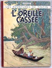 Tintin L'oreille cassée B2 1948 Hergé