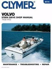 1968-1993 Volvo Penta Stern Drive Repair Manual Duo Prop Aq 105 230 250 251 B770