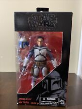 Hasbro Star Wars The Black Series 6 Inch Jango Fett Figure - NEW IN BOX