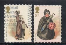 SG 3332/3333 77p/87p Charles Dickens 2012 High Values - Fine Used