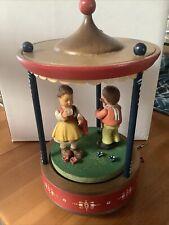 Anri Thorens Carousel Music Box