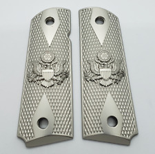 1911 Grips Fits Full Size embossed U.S. Eagle fits Springfield Colt Rock Island.