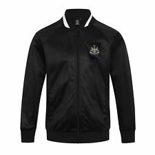 Newcastle United FC Official Kid's Club Retro Track Jacket - 10-11 Years - New