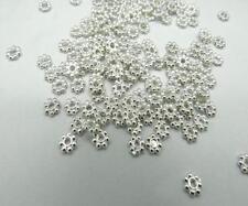 1000pcs/Lots HOT Tibetan Daisy Spacer Metal Beads Jewelry Making Wholesale 4mm