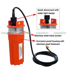 Solar Solarbetrieben Tief Submersible Wasserpumpe Farm Tauchpumpen Pumpe 24V DC