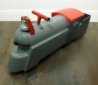 Marx Ride-On Train Locomotive 3000, 1950s Toy, Pressed Steel, Original Condition