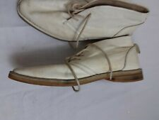 mens size 11 Diesel Cream White Ankle Shoes