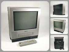 "SONY TRINITRON KV-14FV1U   14"" COLOUR CRT TV & VIDEO VCR + REMOTE   RETRO GAMING"