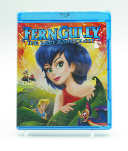 Ferngully The Last Rainforest Blu-ray New Free Shipping