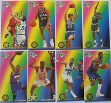 1993-94 Jam Session NBA Basketball : Complete 'Second Year Stars' set (8 cards)