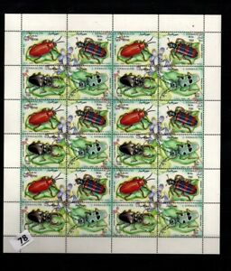 // SOMALIA 1995 - MNH - INSECTS - BUGS