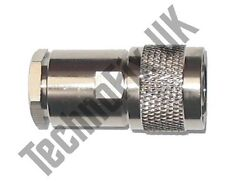 High quality N-type Male compression clamp connector RG8 RG213 LMR400 etc.
