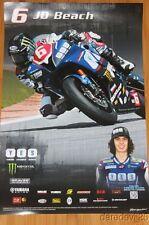 2014 JD Beach Graves Motorsports Yamaha YZF-R6 Sportbike AMA poster