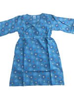 Seasalt Laides Tunic Blouse Dress Blue Green Light Weight  Size 8 10 12 BNWT