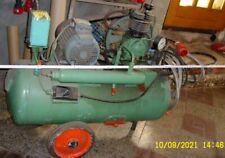 Kompressor großer Luftkompressor Kraftstrom mit Luftschlauch Kraftstromstecker