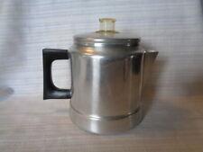 Vintage 5 Cup Comet Aluminum Percolator Stove-Top Coffee Pot~Camping