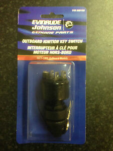 Evinrude/Johnson/OMC Outboard Ignition Switch