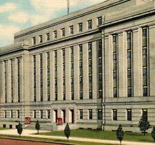 Wade Hampton State Office Building Columbia SC Art Colortone Vintage Postcard