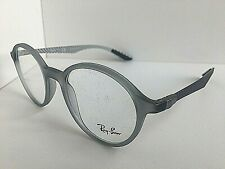 New Ray-Ban RB89045244 48mm Rx Round Gray Eyeglasses Frames