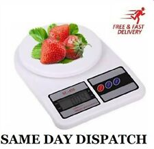 Digital Electronic Kitchen Postal Scales Postage Parcel Weighing Weight UK/10kg