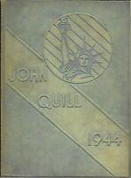 1944 John Marshall High School Yearbook Rochester NY - THE JOHN QUILL