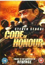 Code of Honour DVD Steven Seagal Region 2 Rating 18 Postage