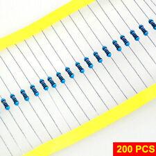 resistenze 1800 kOhm 1.8 MOhm 25 pz. film metallico 1 /% 1//4 W foro passante