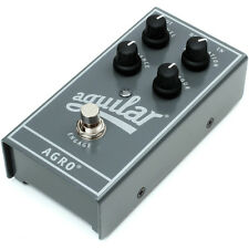 Aguilar AGRO Bass Overdrive Pedal.  U.S. Authorized Dealer