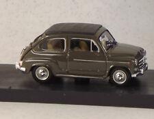 BMR318/02  FIAT 600D '60 TRASF.CHIUSA BEIGE 538